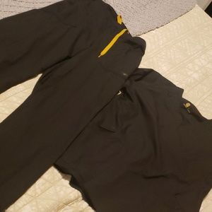 Black carhart scrubs